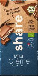 share Schokolade, Milchcreme