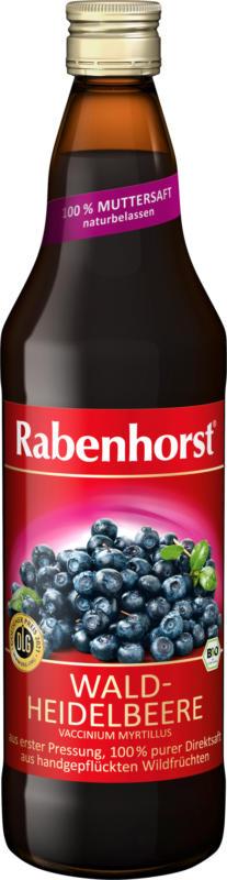 Rabenhorst Direktsaft, Waldheidelbeere