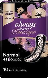 always discreet Binden Boutique Normal
