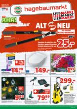 Hagebau Lieb Markt Flugblatt - gültig bis 30.4.