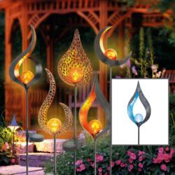 "LED-Solarleuchte ""Flame Svante"""