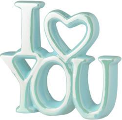Deko-Schriftzug I Love you (Nur online)