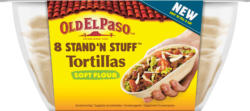 Stand 'n Stuff™ Soft Tortillas Old El Paso, Coquille, 193 g