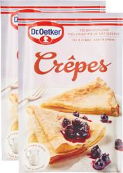 Mélange pour crêpes Dr. Oetker, 2 x 200 g