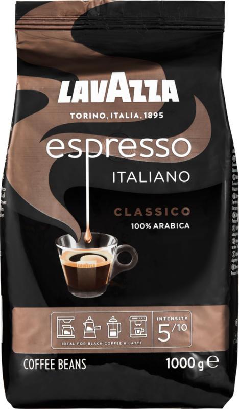 Lavazza Kaffee Espresso Italiano Classico, Bohnen, 1 kg