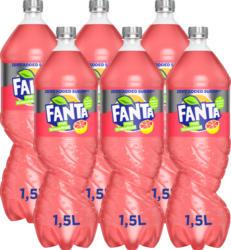 Fanta Pink Grapefruit Zero, 6 x 1,5 litre