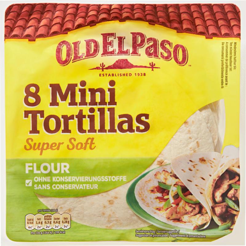 Old El Paso Mini Tortillas, 220 g