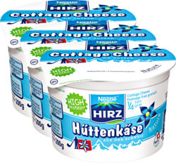 Cottage Cheese Nature Hirz, 3 x 200 g
