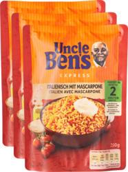 Riso Express Uncle Ben's, Italiano con mascarpone, 3 x 250 g