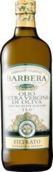 Olio di oliva Extra Vergine Barbera, filtrato, 1 litro