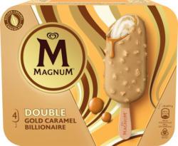 Magnum Double Gold Caramel, 4 x 85 ml