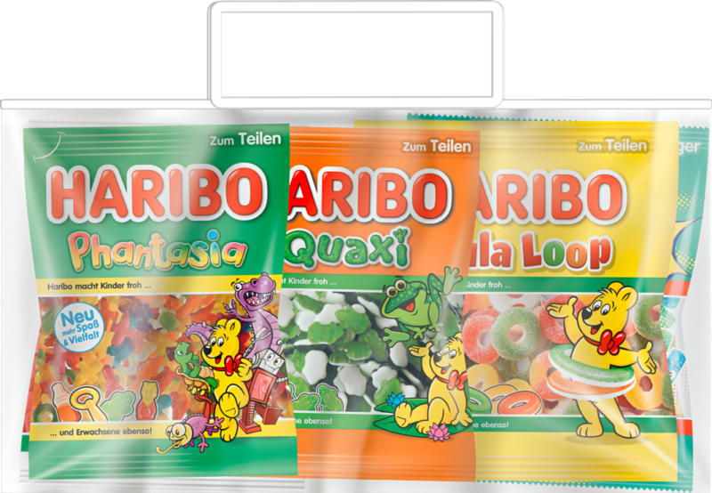 Sacchetto misto Haribo, 5 x 200 g