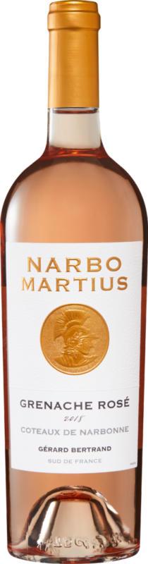 Narbo Martius Grenache Rosé Coteaux de Narbonne IGP, 2020, Languedoc-Roussillon, Frankreich, 75 cl