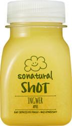 Sonatural Shot, Ginger & Apple, 125 ml