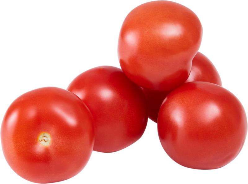 Tomates, Provenance indiquée sur l'emballage, 1 kg