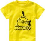 Ernsting's family Baby T-Shirt mit gummiertem Print (Nur online)
