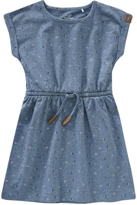 Mädchen Kleid mit Allover-Print (Nur online)