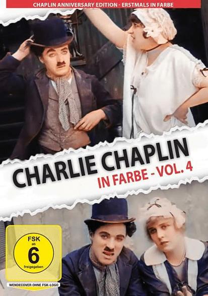 Charlie Chaplin In Farbe-Vol.4 [DVD]