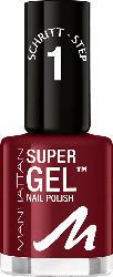 MANHATTAN Cosmetics Nagellack Super Gel Nail Polish Moody Mahagony 690
