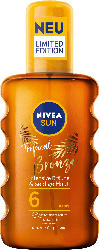NIVEA SUN Sonnenöl-Spray tropical bronze LSF 6