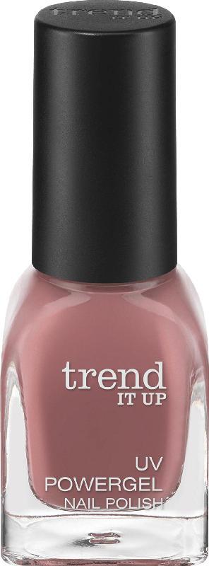 trend IT UP Nagellack UV Powergel Nail Polish dunkelrosa 110
