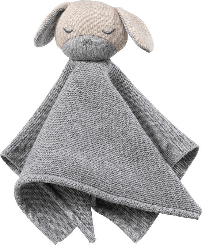 ALANA Schmusetuch Hund, grau