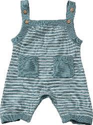 ALANA Baby Strampler, Gr. 62, in Bio-Baumwolle, petrol, weiß