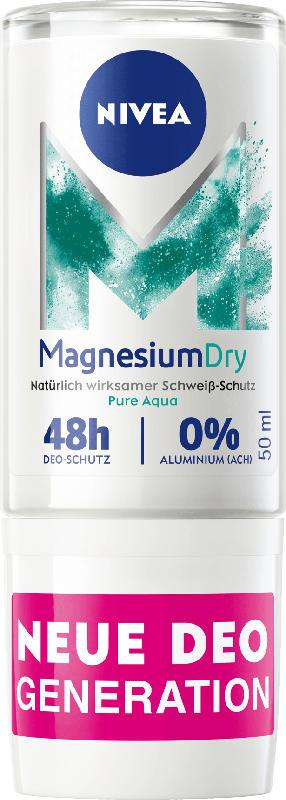 NIVEA Deo Roll On Magnesium Dry Pure Aqua