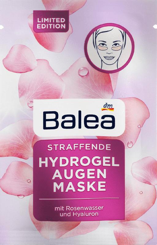 Balea Augenpads Hydrogel Rosenwasser
