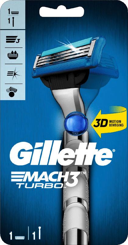 Gillette Turbo Apparat + 1 Klinge