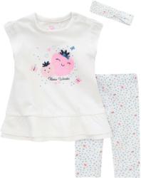 Newborn Shirt, Leggings und Haarband im Set (Nur online)
