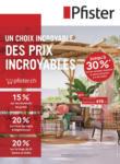 Pfister Nouveau: Canapés, Fauteuils & Salon de jardin - au 10.05.2021