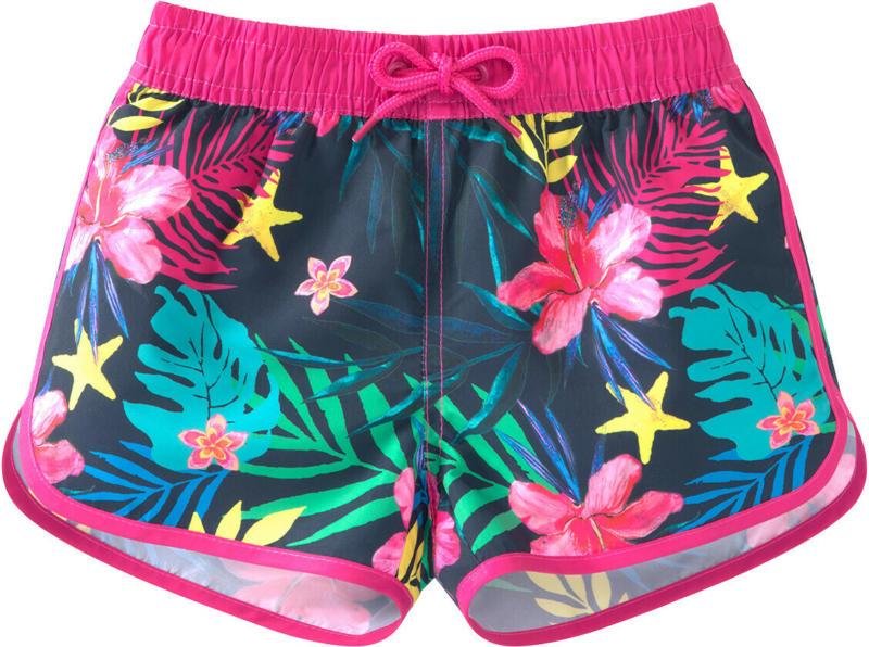 Mädchen Badeshorts im Hawaii-Look (Nur online)