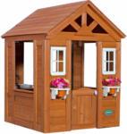 OBI Backyard Spielhaus Timberlake aus Zedernholz 107 cm x 117 cm inkl. Zubehör - bis 31.05.2021