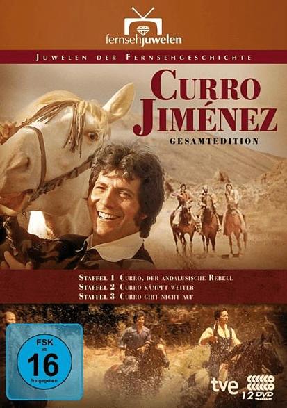 Curro Jimenez-Der andalusische Rebell (Komplettb [DVD]