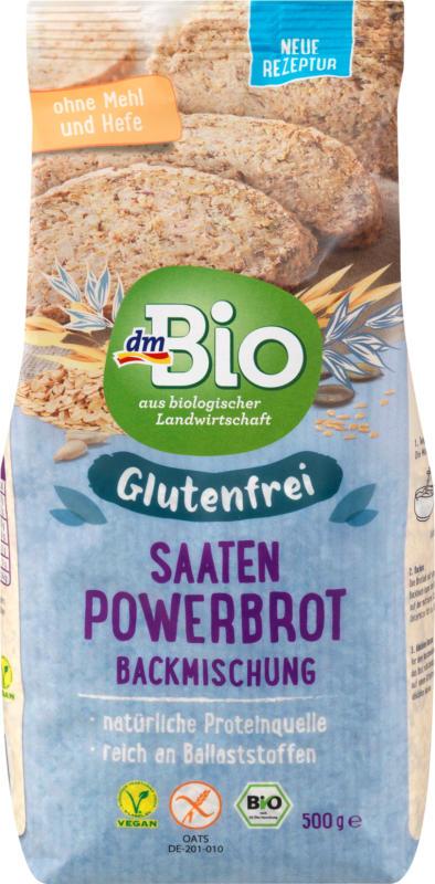 dmBio Saaten-Powerbrot Backmischung glutenfrei