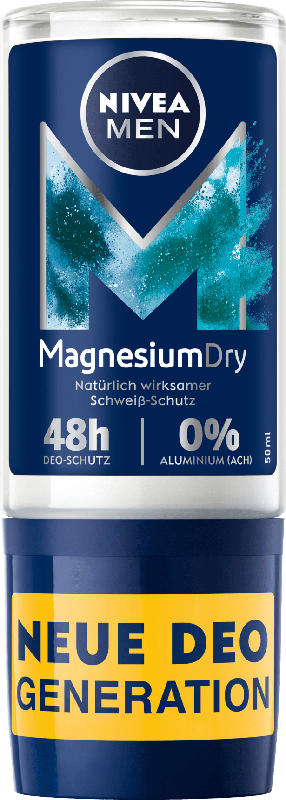 NIVEA MEN Deo Roll-On Magnesium Dry