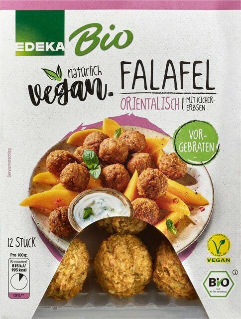 EDEKA Bio + Vegan Falafel orientalisch