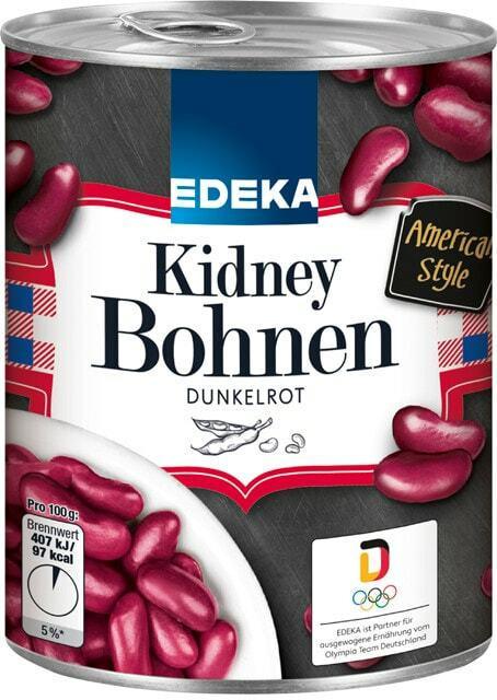 EDEKA Kidney Bohnen, Braune Linsen