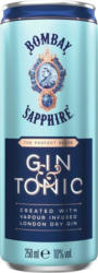 Bombay Sapphire & Tonic