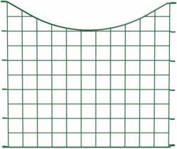 Teichzaunelement U-Bogen, 52,5x77,3, grün