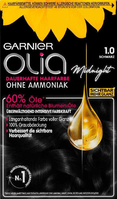 Olia Haarfarbe Schwarz 1.0