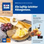 Konsum Dresden Wöchentliche Angebote - bis 24.04.2021