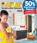 Möbel Inhofer Möbel Inhofer - Badmöbel Spezial - bis 04.05.2021