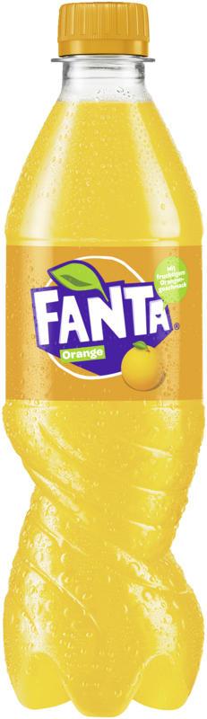 Erfrischungsgetränk mit Orangengeschmack