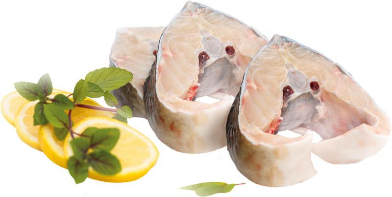 Stör-Steak, frisch