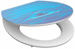 SCHÜTTE-MDF-High-Gloss-WC-Sitz »Tropfen«