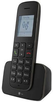 Telekom Sinus 207 DECT/GAP Schnurloses Telefon analog Freisprechen Schwarz