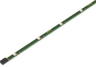 Conrad Components LED-Streifen Brilliant starr Blau 1485469 LED-Streifen mit Stecker/Buchse 5 V/DC 33 cm Blau