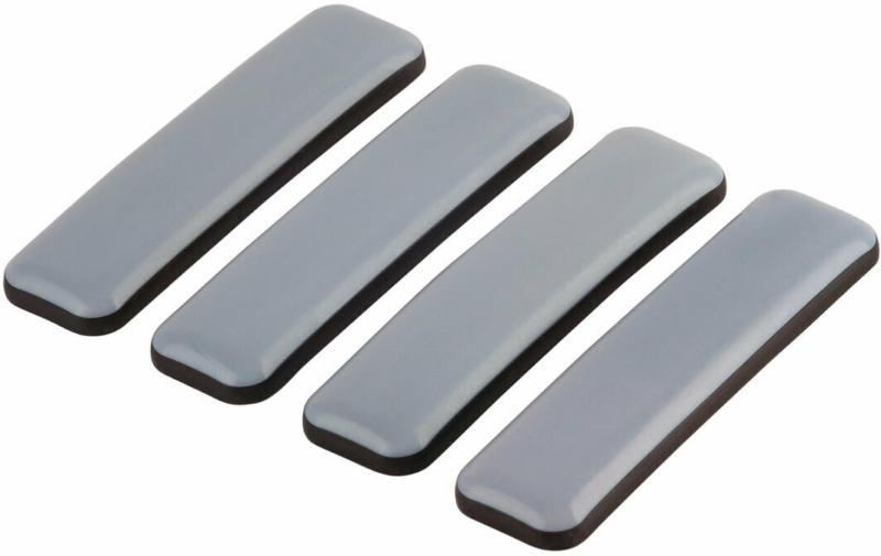 """Universalgleiter """"Easy Glider"""", klebend, 7x1,9cm, grau, 4 Stück"""